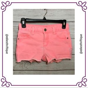 3/$20 Justice Girls Shorts Neon Pink